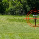 Disc Golf Up Shot Technique to Control Distance Accurately