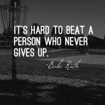 Wisdom Wednesday – Never Give Up