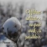 Wisdom Wednesday – Solitude