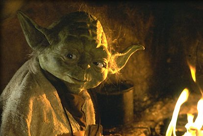 Who did this old man think he was, Yoda?!