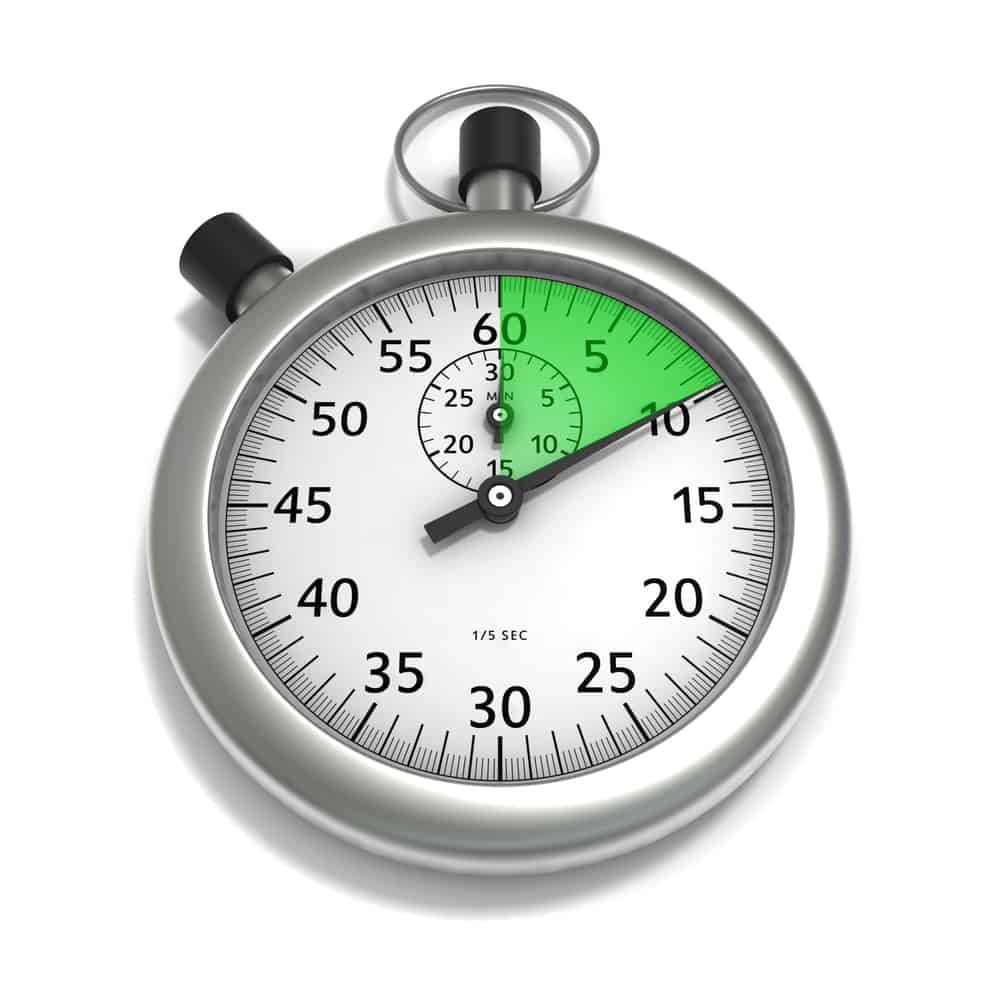 10 minute stopwatch
