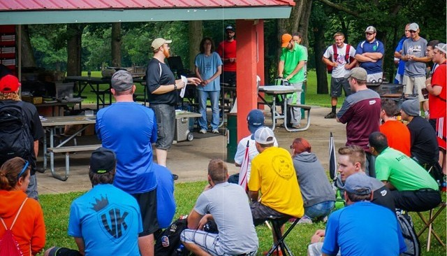 Disc Golf Tournament Player's Meeting