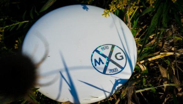 Dynamic Discs Warden in the grass