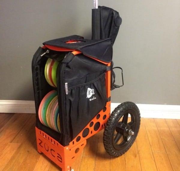 Zuca all terrain disc golf cart aka Ridge Roller