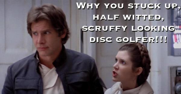 Star Wars Disc Golf Meme