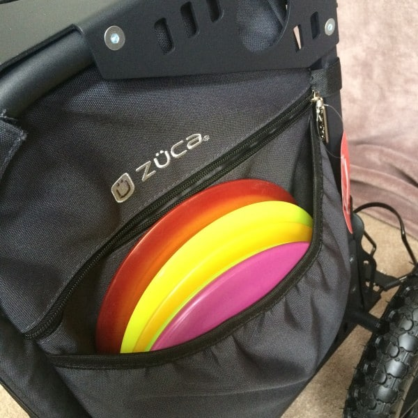 ZÜCA / Ridge Roller right side elastic pocket