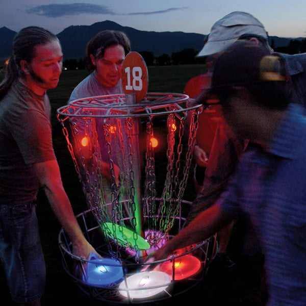 Nite Ize Flashflight in the basket