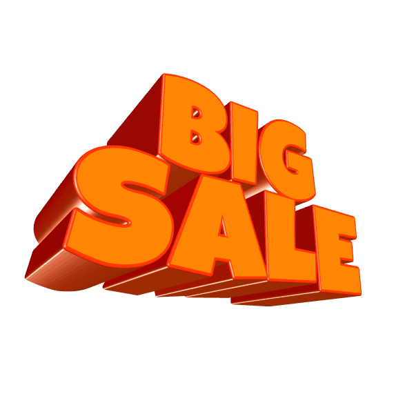 big sale for profit